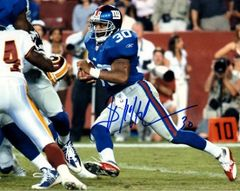 Brian Mitchell autograph 8x10, New York Giants
