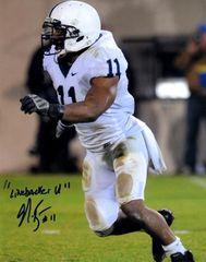 NaVorro Bowman autographed 8x10, Penn State University (PSU)