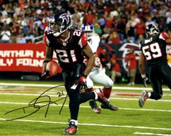 Deangelo Hall autograph 8x10, Atlanta Falcons