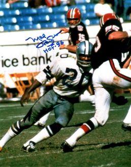 Mel Renfro autograph 8x10, Dallas Cowboys, HOF 96
