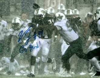 Vinny Curry autograph 8x10, Marshall University, GREAT inscript