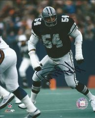 Randy White autograph 8x10, Dallas Cowboys