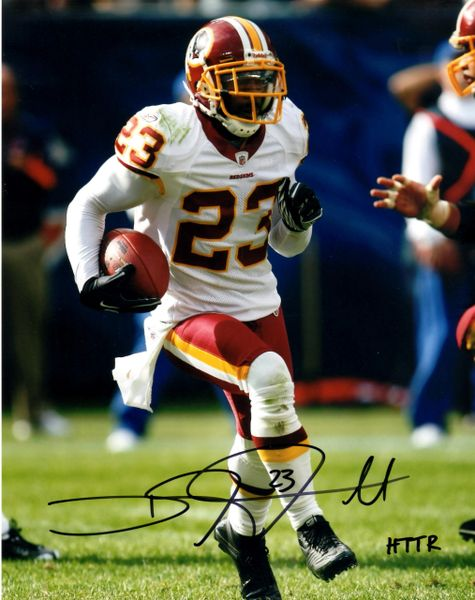 DeAngelo Hall autograph 8x10, Washington Redskins, HTTR