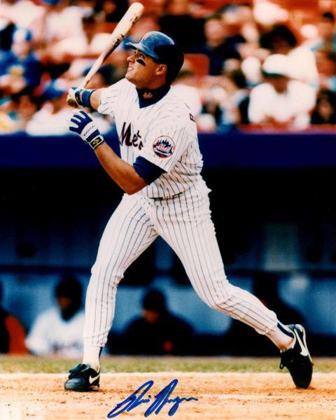 Rico Brogna, autographed 8x10, New York Mets