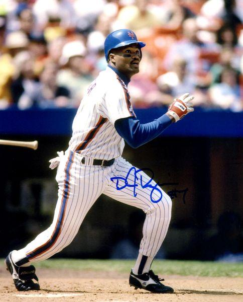 DJ Dozier, autographed 8x10, New York Mets
