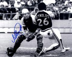 Ed Ott, autographed 8x10, Pittsburg Pirates