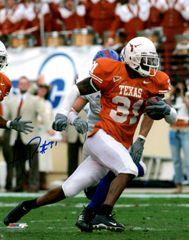 Aaron Ross autograph 8x10, Texas