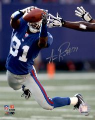 Aaron Ross autograph 8x10, New York Giants