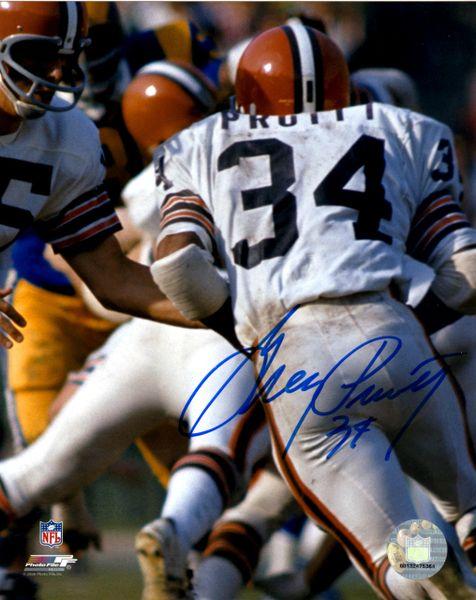 Greg Pruitt autograph 8x10, Cleveland Browns
