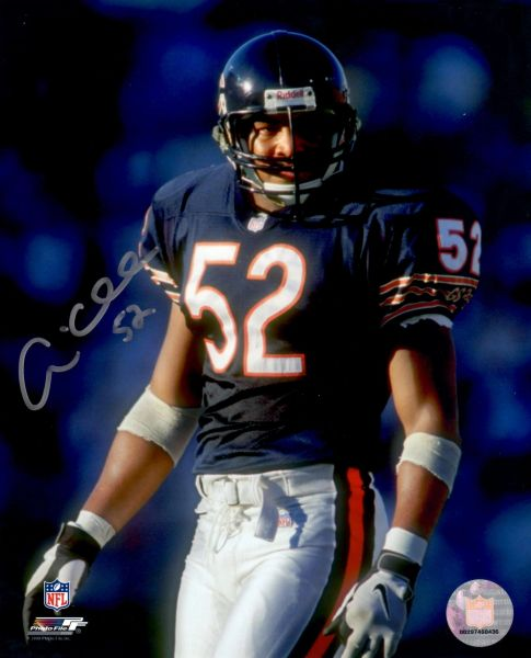 Andre Collins autograph 8x10, Chicago Bears