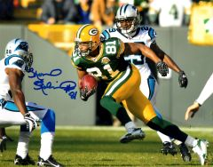 Koren Robinson autograph 8x10, Green Bay Packers