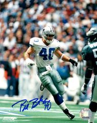 Bill Bates autograph 8x10, Dallas Cowboys