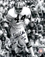 Leroy Kelly autograph 8x10, Cleveland Browns, HOF 94