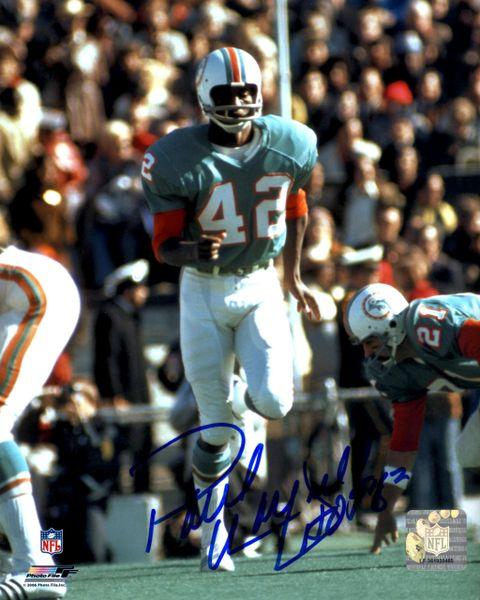 Paul Warfield autograph 8x10, Miami Dolphins, HOF 83