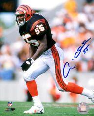 Andre Collins autograph 8x10, Cincinnati Bengals
