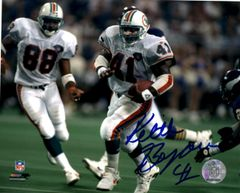 Keith Byars autograph 8x10, Miami Dolphins