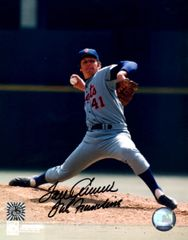 Tom Seaver autograph 8x10, New York Mets, The Franchise