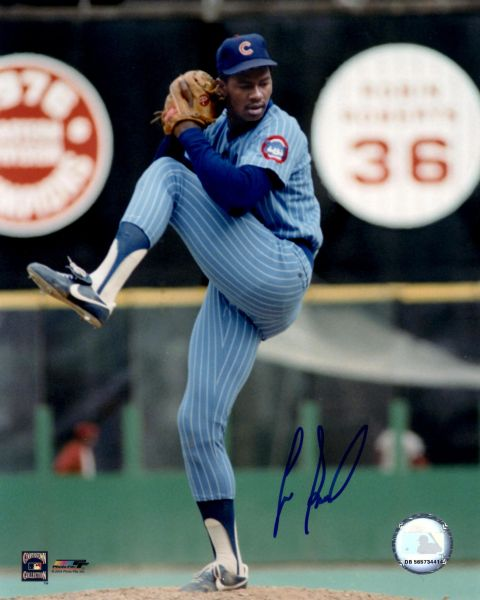 Lee Smith autograph 8x10, Chicago Cubs