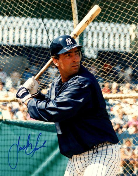 Jack Clark autograph 8x10, New York Yankees