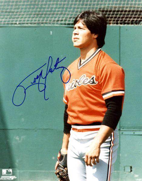 Tippy Martinez autograph 8x10, Baltimore Orioles