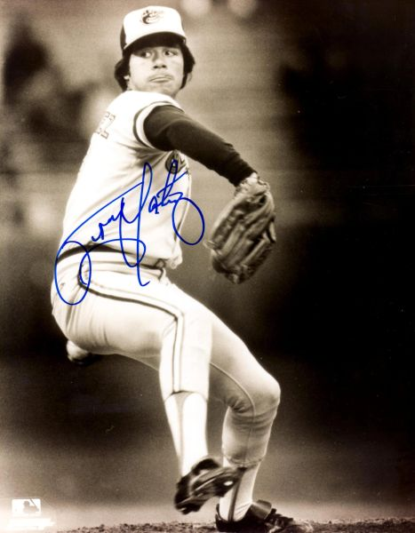 Tippy Martinez autographed 8x10, Baltimore Orioles