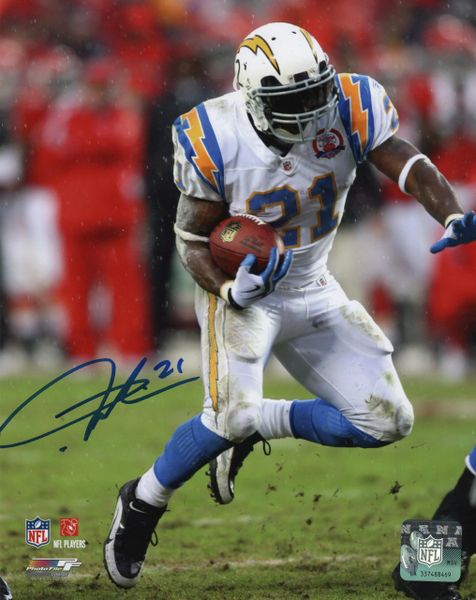 Ladainian Tomlinson autograph 8x10, San Diego Chargers