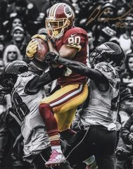 Jamison Crowder autograph 8x10, Washington Redskins vs Eagles