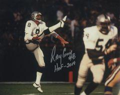 Ray Guy autograph 8x10, Oakland Raiders inscription HOF 2014