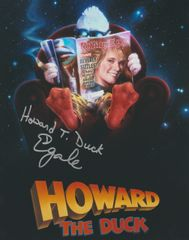 Ed Gale autograph 8x10, Howard the Duck