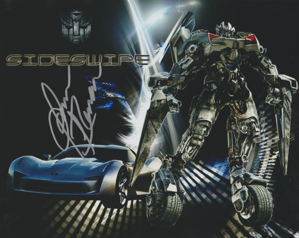 James Remar autograph 8x10, Transformers