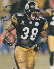 Carey Davis autograph 8x10, Pittsburgh Steelers with inscription