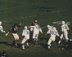 Art Donovan auto 8x10, Baltimore Colts, HOF inscription