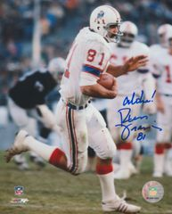 Russ Francis autograph 8x10, New England Patriots