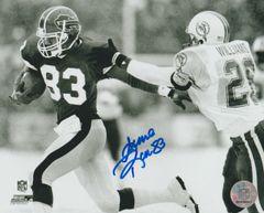 Andre Reed autograph 8x10, Buffalo Bills