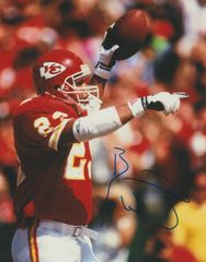 Barry Word auto 8x10, Kansas Chiefs
