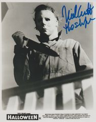 Nick Castle autograph 8x10 (Orginal Michael Myers)
