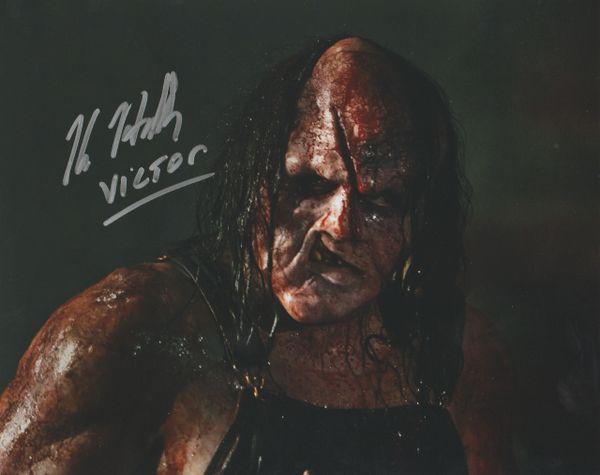Kane Hodder autograph 8x10, Hatchet