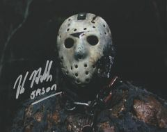 Kane Hodder autograph 8x10, Friday the 13th part VII