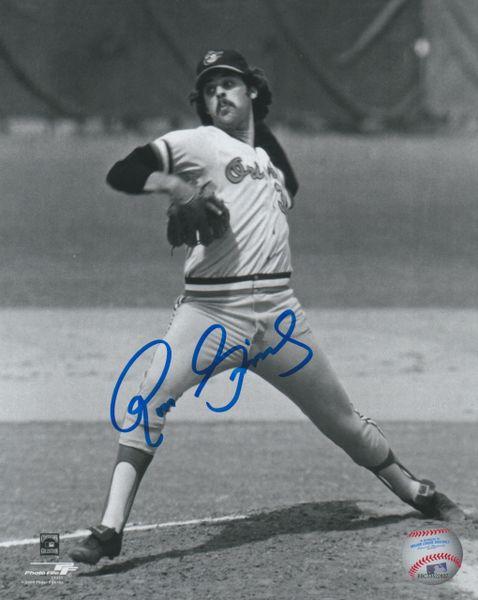 Ross Grimsley autograph 8x10, Baltimore Orioles