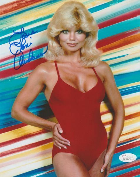 Autograph 8x10 of Loni Anderson