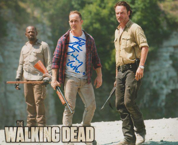 Autograph 8x10 Ethan Embry, The Walking Dead, Inscription: Carter