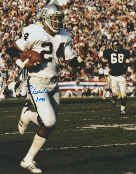 Willie Brown autograph 8x10, Raiders, Inscription: HOF 84