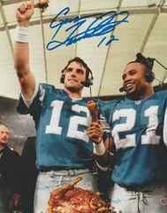 Gus Frerotte autograph 8x10, Detroit Lions