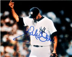 Jack McDowell autograph 8x10, New York Yankees