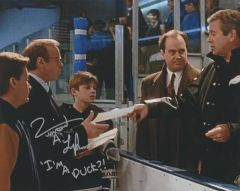 Vincent Larusso autograph 8x10; I'm a Duck?! Mighty Ducks