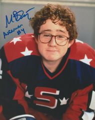 Autograph 8x10 Matt Doherty; Averman #4, Mighty Ducks