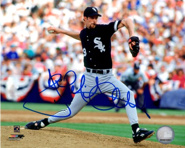 Jack McDowell autograph 8x10, Chicago White Sox