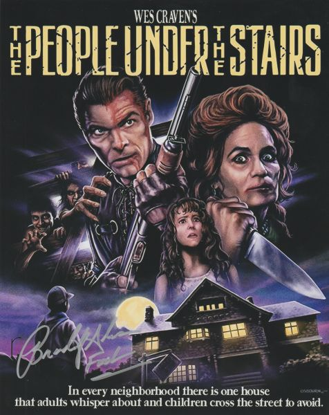 Autograph 8x10 Brandon Adams, People Under the Stairs, Fool