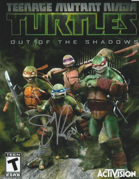 Scott Whyte autograph 8x10; Teenage Mutant Ninja Turtles; Leonardo