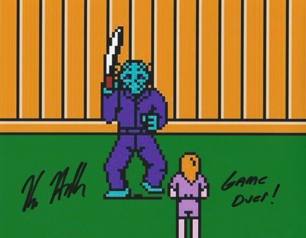 Kane Hodder autograph 8x10, from original Nintendo game, cool inscription